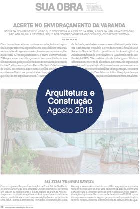 Arquitetura e Construção – Agosto 2018